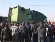 В России началась акция протеста дальнобойщиков