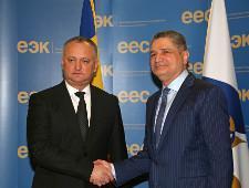 Президент Республики Молдова и Председатель Коллегии ЕЭК обсудили возможность принятия Меморандума о сотрудничестве
