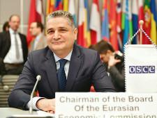 Тигран Саркисян: будущее ЕАЭС в стратегическом развитии