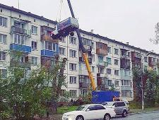 Влюбленный житель Бийска поднялся на пятый этаж на ГАЗели - Экономика и общество