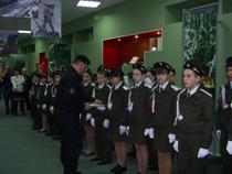 Крепнут шефские связи тагильских таможенников и кадетов - Новости таможни - TKS.RU