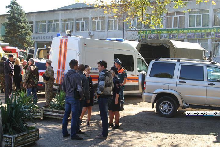 Теракт в Керчи устроил ученик колледжа. Число жертв трагедии увеличилось до 18 человек