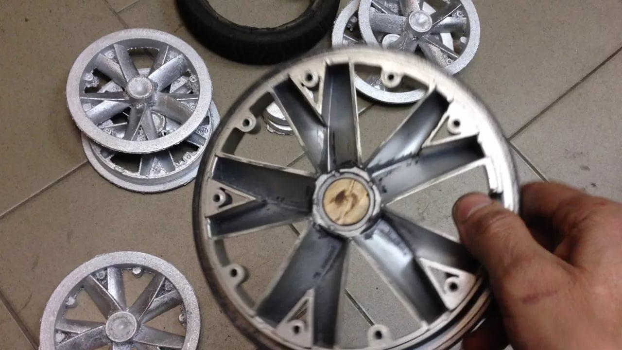 На импорт колес из алюминия нужна лицензия