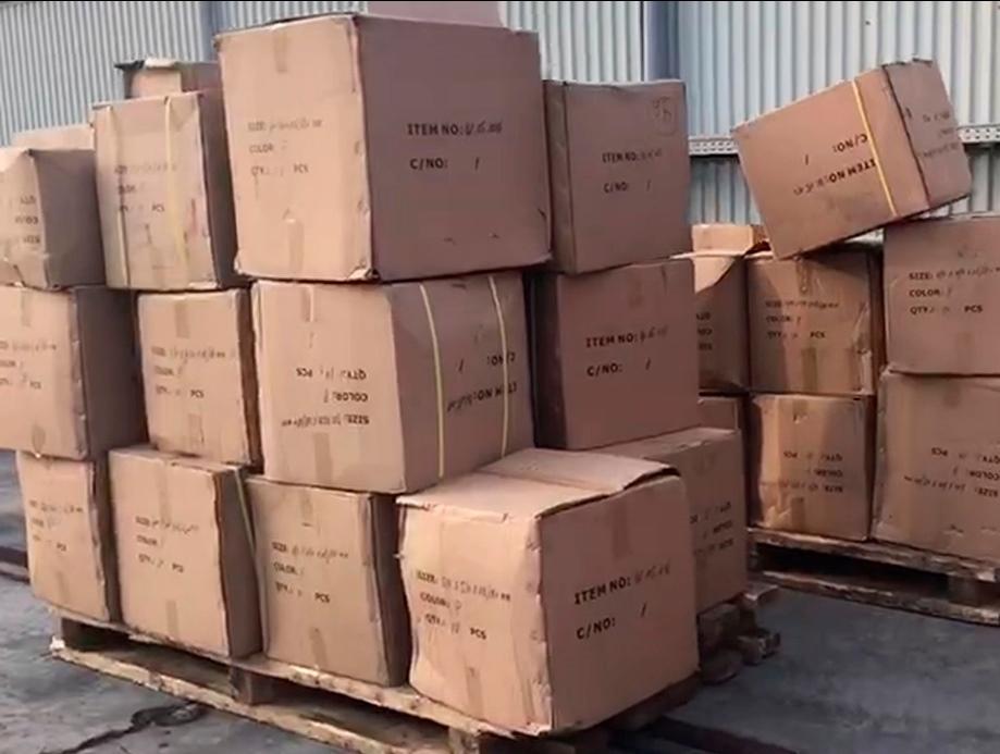 Владивостокская таможня задержала 25 тонн металлических товаров