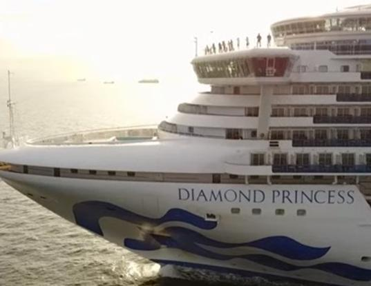 Россиянка заразилась коронавирусом на лайнере Diamond Princess