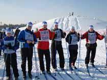 Нижнетагильская таможня приняла участие в гонке «Лыжня России – 2009»  - Новости таможни - TKS.RU