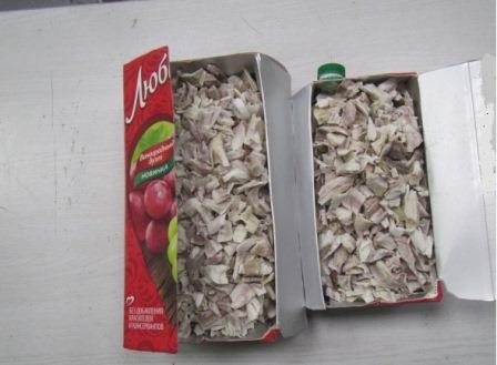 Более 1,5 кг рогов обнаружили уссурийские таможенники в упаковках от сока - Криминал