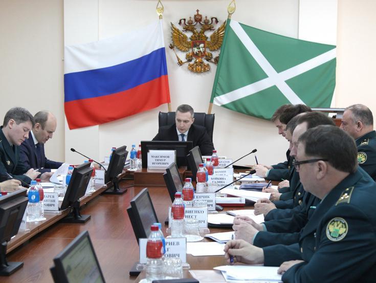 Новый заместитель руководителя ФТС России посетил Дальневосточное таможенное управление
