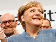 На выборах в Германии победила партия Меркель