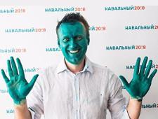 Сторонники Навального начали в Сети флешмоб с фотографиями лиц, окрашенных в зеленый цвет - Экономика и общество - TKS.RU
