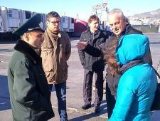 Делегация Посольства Королевства Нидерландов посетила Новороссийскую таможню