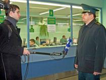 Съемочная группа Первого канала посетила МАПП Бурачки - Новости таможни - TKS.RU