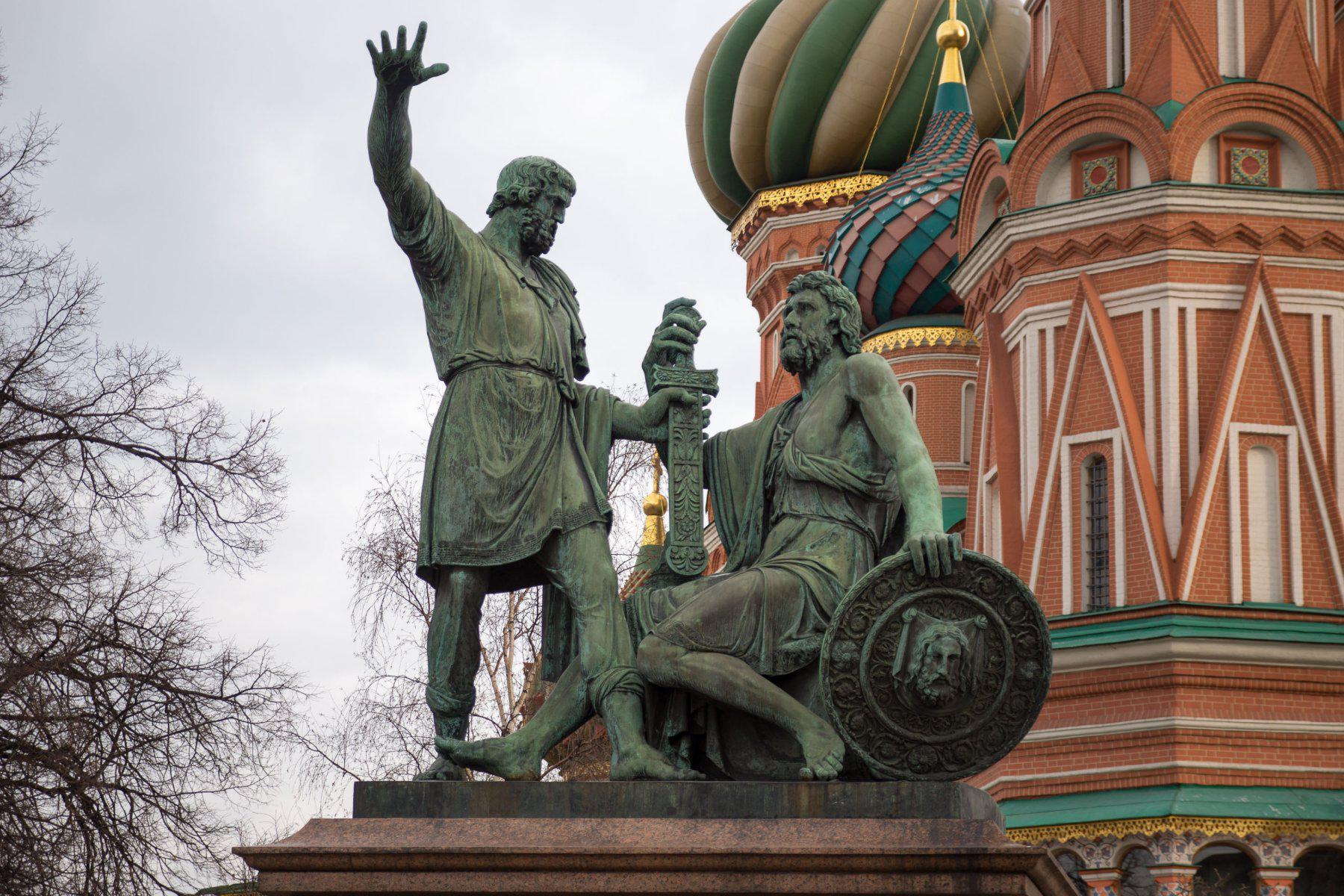 Картинки памятника пожарскому и минину