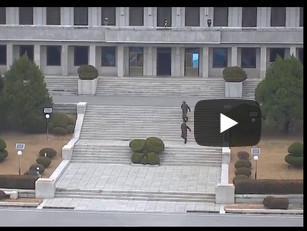Опубликовано видео побега северокорейского солдата через охраняемую границу