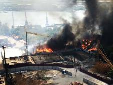 Режим ЧС введен в Ростове-на-Дону из-за пожара
