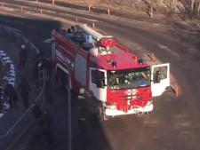 В Домодедове пожарный автомобиль сбил девять человек