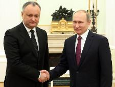 Президенты России и Молдавии обсудили стратегическое партнерство