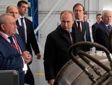 Путин открыл производство корабельных газотурбинных двигателей взамен украинским