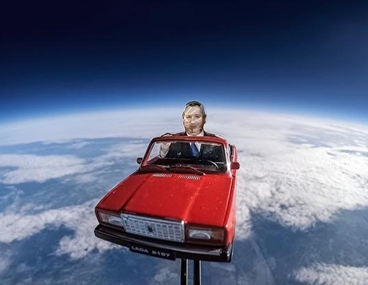 В Томске ученые запустили в космос фигурку Рогозина на «Жигулях» - Экономика и общество