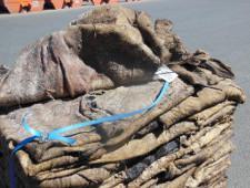 20 тонн казахстанских шкур задержаны при ввозе в Оренбургскую область