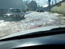 Из завода PepsiCo в Липецкой области на улицы вылились тонны сока