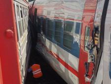 В Москве из-за схода двух вагонов электричка столкнулась со скоростным поездом «Стриж» - Экономика и общество - TKS.RU