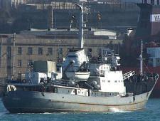 Корабль Черноморского флота столкнулся в Черном море с судном Ашот-7