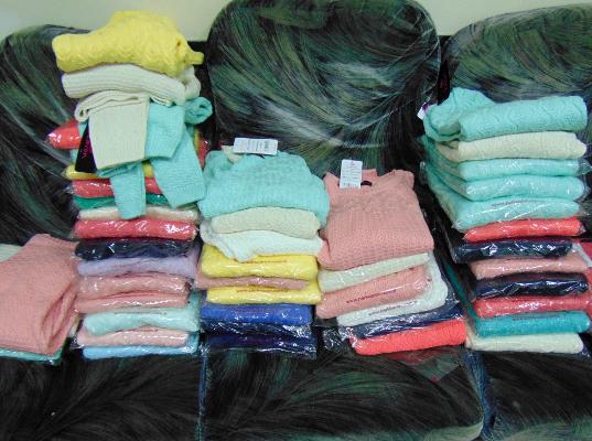51 кофта «на подарки родным»  изъята минераловодскими таможенниками