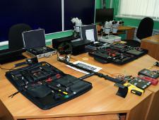 Челябинские таможенники подарили абхазским коллегам технические средства таможенного контроля