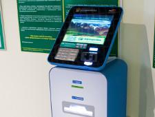В Домодедово установили терминал для оплаты пошлин и штрафов он-лайн