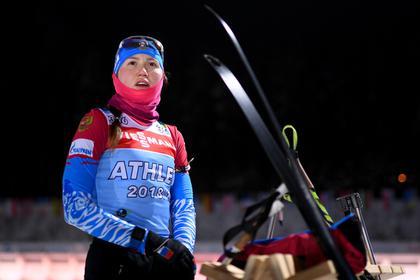Российская биатлонистка ушла из Instagram после скандального поста