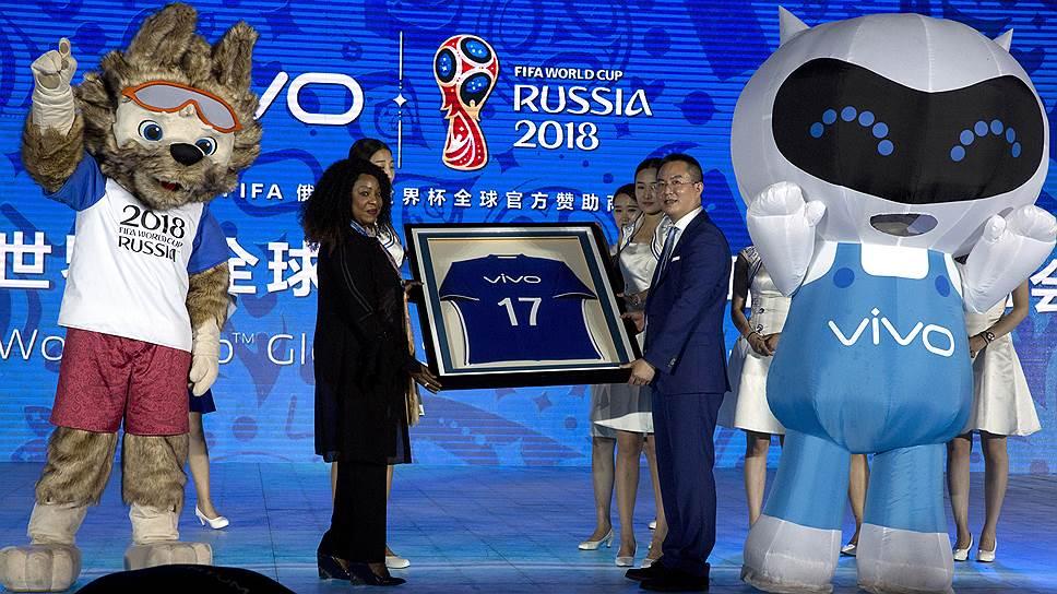 Китайский смартфон узнают в России по спонсорству - Экономика и общество - TKS.RU