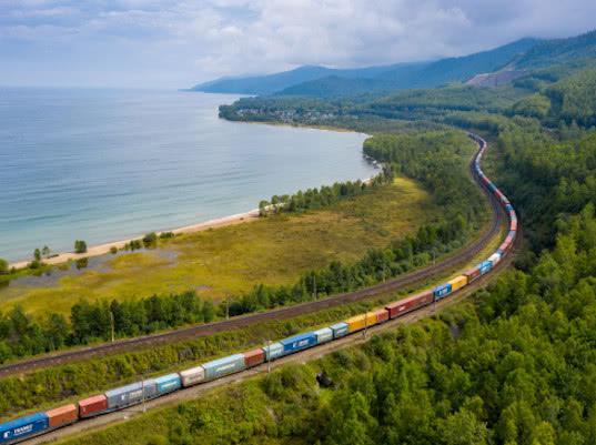 РЖД Логистика и Nurminen Logistics отправили полносоставный поезд из Финляндии в Японию по Транссибу - Логистика